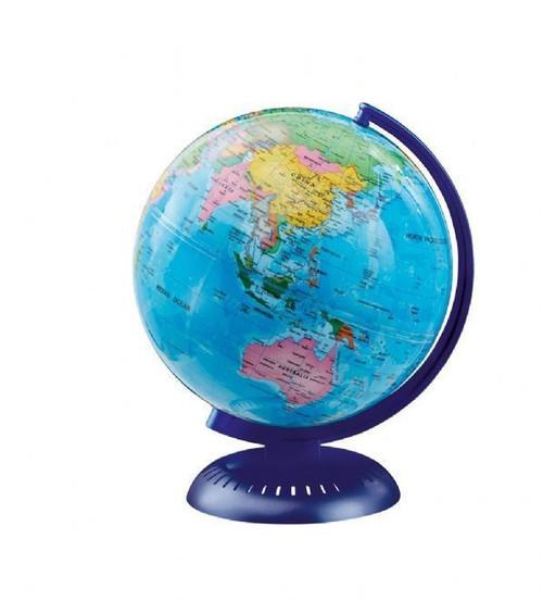 WORLD GLOBE 14CM