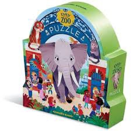 DAY AT THE MUSEUM ZOO PUZZLE 48 PCS