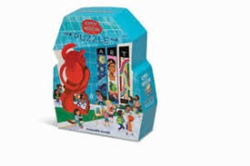 DAY AT THE MUSEUM ART PUZZLE 48 PCS
