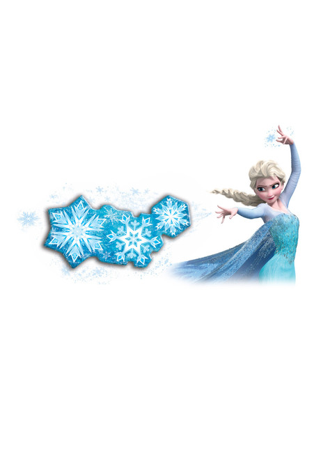 DISNEY FROZEN SNOWFLAKE LIGHT DANCE