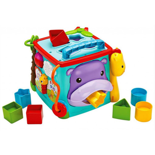 FISHER PRICE PLAY & LEARN ACTIVITY CUBE