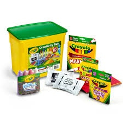 CRAYOLA GIFTS ART TUB FOR PRIMARY SCHOOL