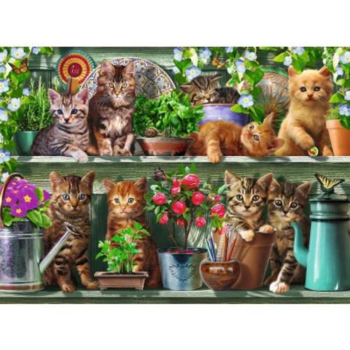 CATS AND SHELF PUZZLE 500 PCS
