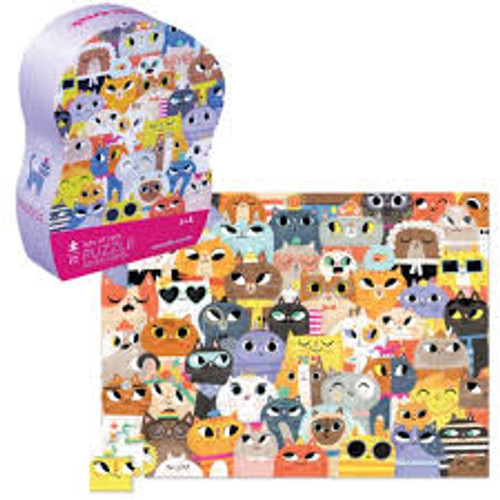 LOTS OF CATS PUZZLE 72 PC