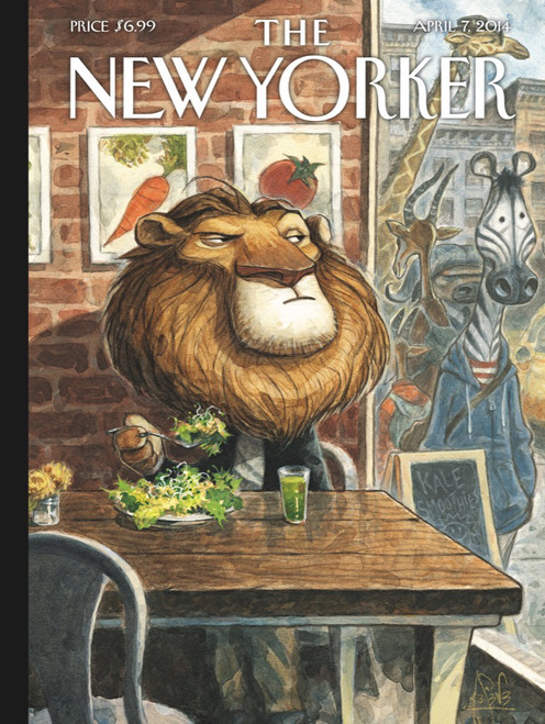 THE NEW YORKER A NEW LEAF