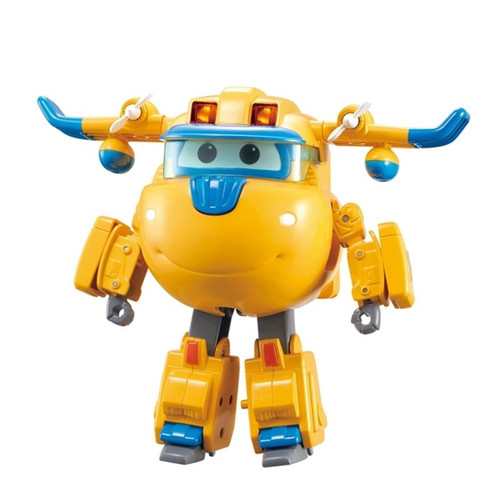 SUPER WINGS DELUXE TRANSFORMING-SUPERCHARGED DONNIE