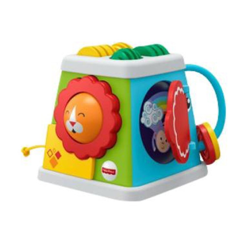 FISHER PRICE EC INFANT TAKE & TURN ACTIVITY CUBE