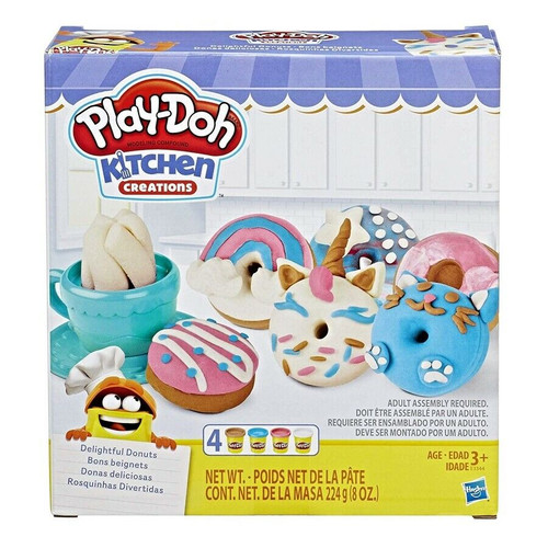PLAY-DOH DELIGHTFUL DONUTS SET W1