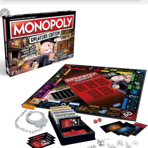 MONOPOLY CHEATERS EDITION W1