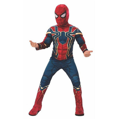 MARVEL AVENGERS INFINITY WAR IRON SPIDER SMALL 3-4 YEARS