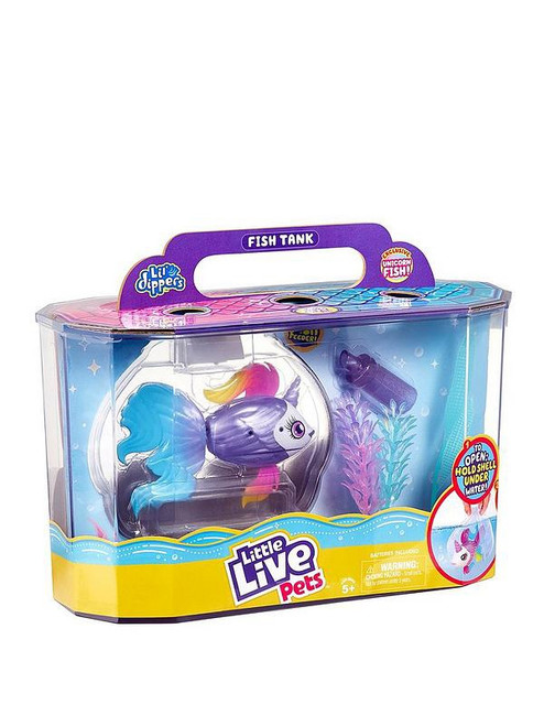 LITTLE LIVE PETS LIL' DIPPERS FISH TANK