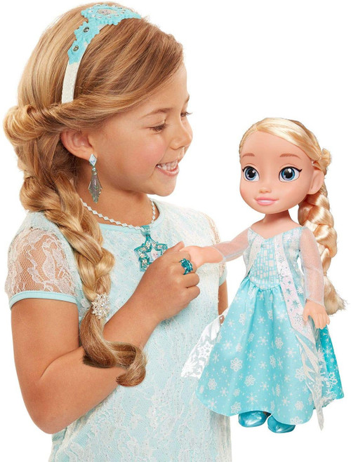 FROZEN TODDLER ELSA WITH ACCESSORIES