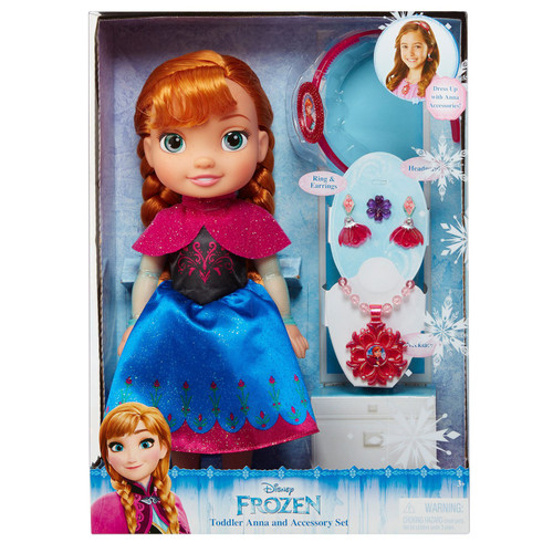 FROZEN TODDLER ANNA WITH ACCESSORIES