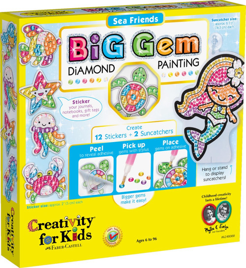 BIG GEM DIAMOND PAINTING SEA FRIENDS