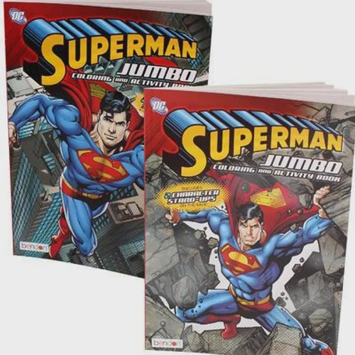 SUPERMAN JUMBO COLORING BOOK