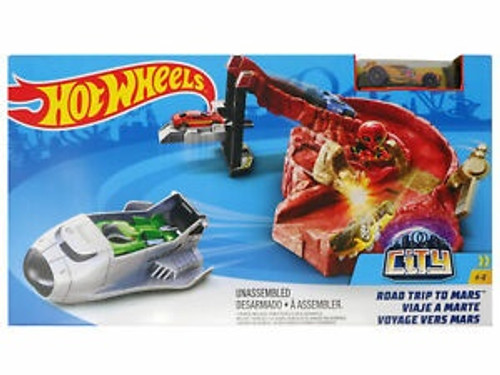 HOT WHEELS ROAD TRIP TO MARS