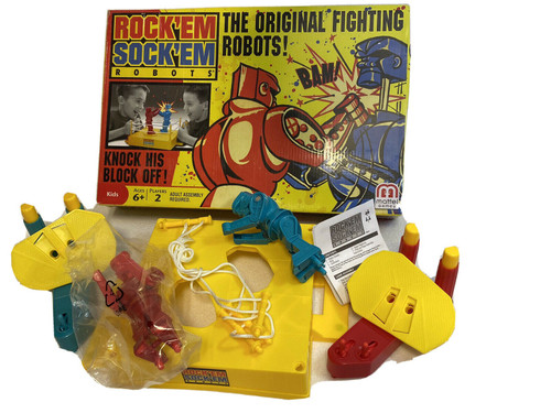 ROCK'EM SOCK 'EM ROBOTS