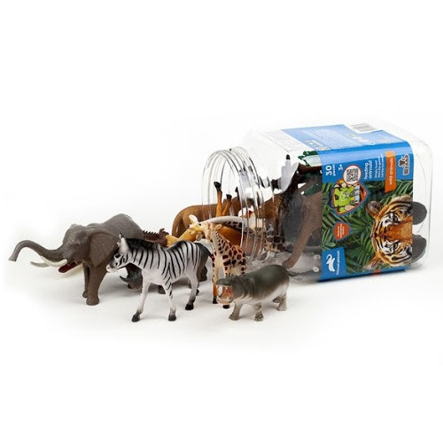 WILD ANIMALS PLAYSET 30 PCS