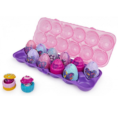 HATCHIMALS COLLEGGTIBLES COSMIC CANDY 12 PACK EGG