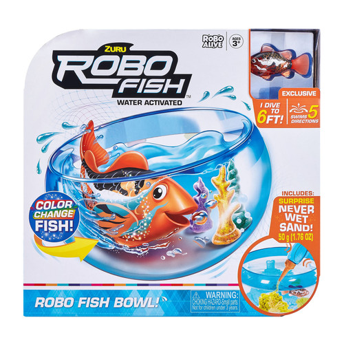 ZURU ROBO FISH WATER ACTIVATED PLAYSET