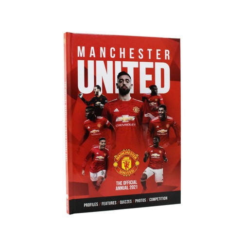 MANCHESTER UNITED ANNUAL 2021 HB