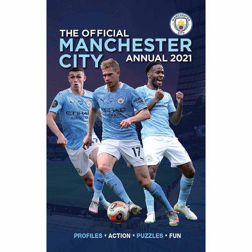 MANCHESTER CITY ANNUAL 2021 HB