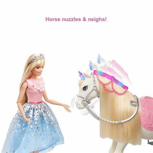BARBIE PRINCESS FEATURE HORSE