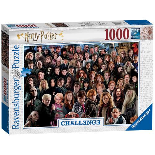 HARRY POTTER CHALLENGE PUZZLE 1000 PCS