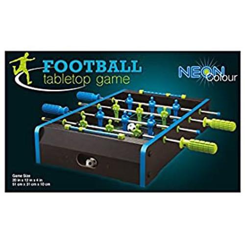 FOOTBALL TABLETOP GAME NEON COLOUR