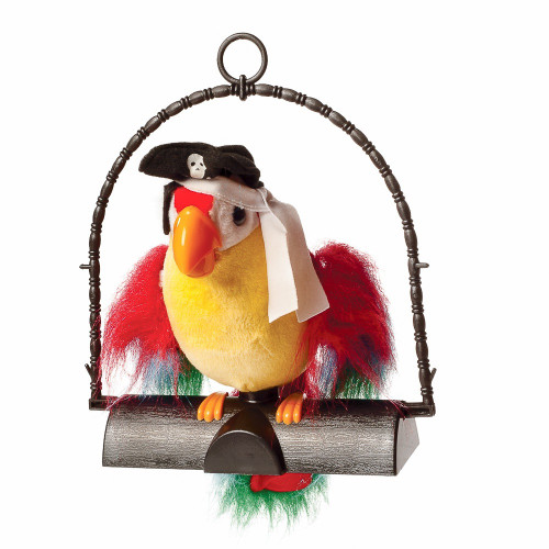 PIRATE PETE PARROT THAT REPEATS
