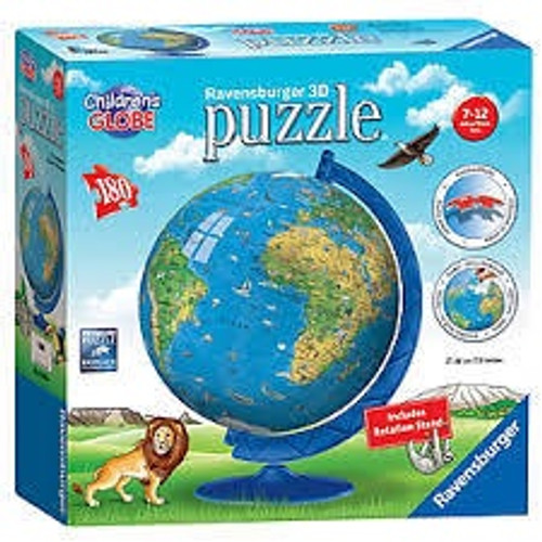 CHILDREN'S GLOBE 3D PUZZLE W1