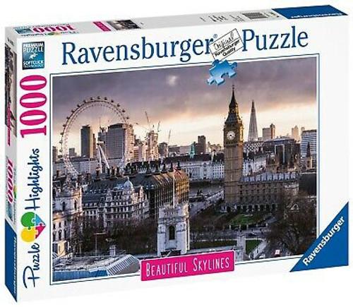 LONDON SKYLINE PUZZLE 1000 PCS