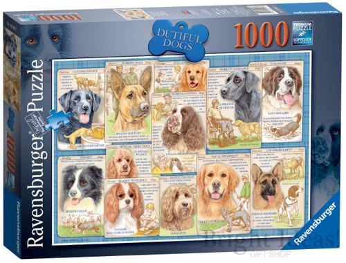 DUTIFUL DOGS PUZZLE 1000 PCS