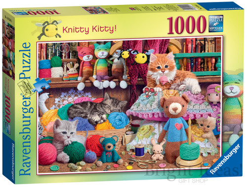 KNITTY KITTY PUZZLE 1000 PCS