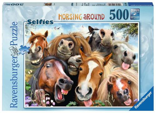 SELFIES HORSING PUZZLE 500 PCS