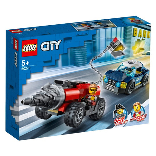 POLICE DRILLER CHASE