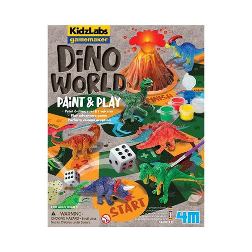 DINO WORLD PAINT & PLAY