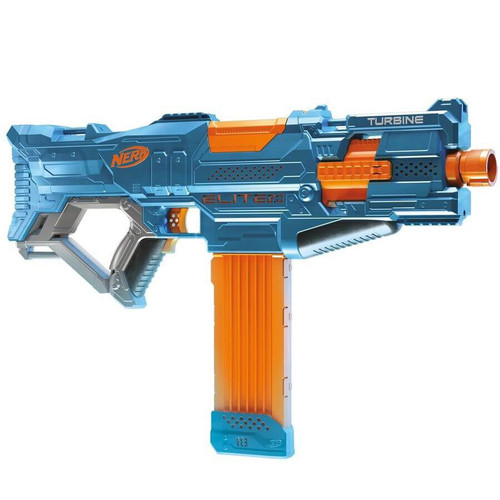 NERF ELITE 20 TURBINE CS18 MOTORIZED RAPID-FIRE BLASTING