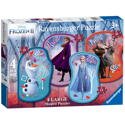 FROZEN II 4 SHAPED PUZZLE