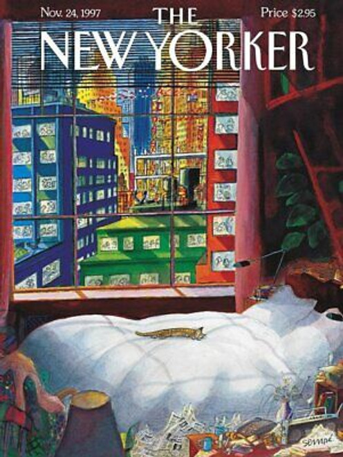 THE NEW YORKER CAT NAP