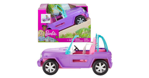 BARBIE OFF ROAD VEHICLE WITH ROLLING WHEELS