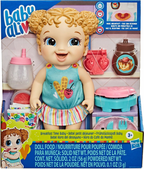 BABY ALIVE BREAKFAST TIME BABY