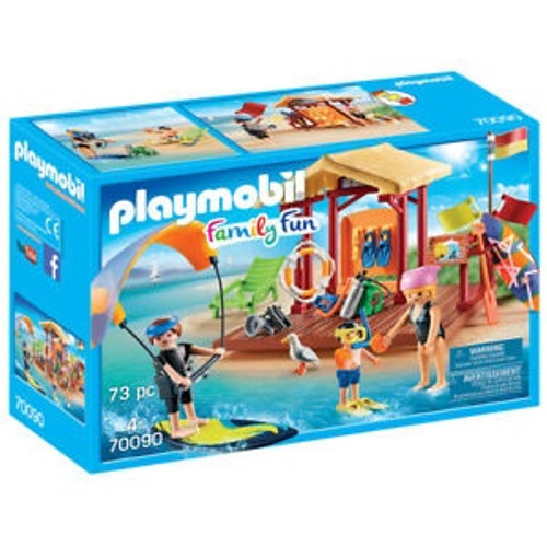 PLAYMOBIL CAMPING WATER SPORTS LESSON