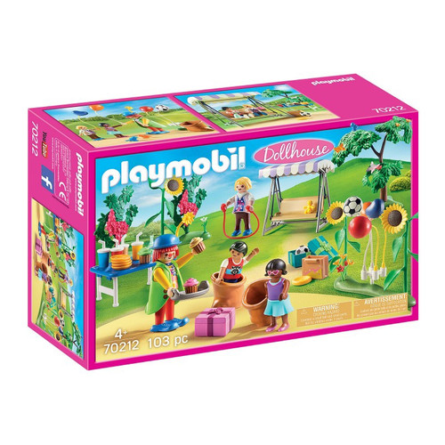 PLAYMOBIL DOLL HOUSE BIRTY PARTY