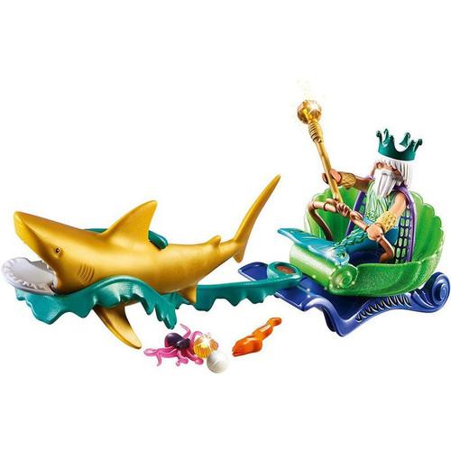 PLAYMOBIL KING OF THE SEA SHARK CARRIAGE