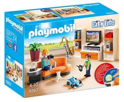 PLAYMOBIL LIFE LIVING ROOM