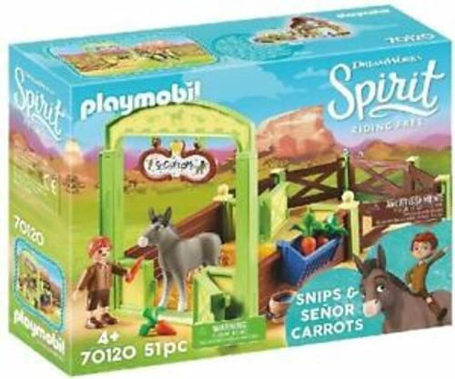 PLAYMOBIL SNIPS & SENOR CARROTS