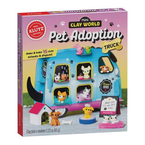 MINI CLAY WORLD PET ADOPTION TRUCK