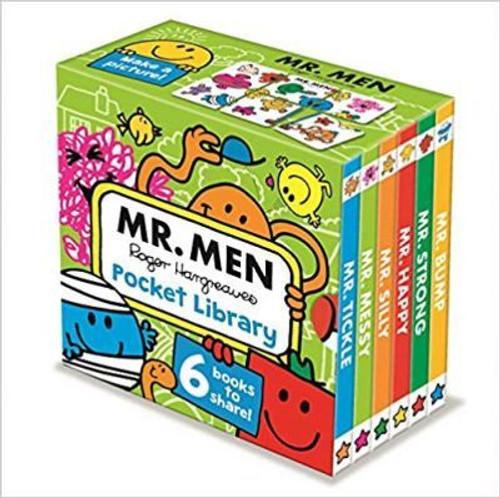 MR MEN POCKET LIBRARY W1