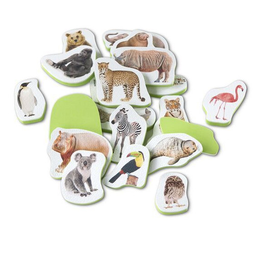 TUB STICKABLES WILD ANIMALS